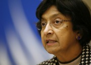 U.N. High Commissioner for Human Rights Pillay. REUTERS/Denis Balibouse