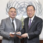 The UN should appoint a special envoy for democratic transitions in the Arab region <br> CIHRS recommendations presented to the UN Secretary-General during a meeting with CIHRS director Bahey eldin Hassan