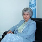 Bahey eldin Hassan meets with United Nations Deputy High Commissioners for Human Rights