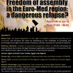 Freedom of assembly Faces dangerous relapse in Egypt, Turkey, and Algeria