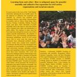 مركز القاهرة: الفلسفة العدائية إزاء الحق في التجمع السلمي وتكوين الجمعيات تعزز حالة الإفلات من العقاب