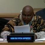 عمان: التعبير عن التضامن مع مقرر الأمم المتحدة الخاص المعني بالحق في حرية التجمع السلمي وتكوين الجمعيات