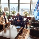 Bahey eldin Hassan meets UN Secretary-General Antonio Guterres and calls on the UN to take the lead in rebuilding failing Arab states and establish a UN monitoring mechanism on Egypt